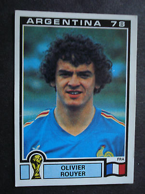 Panini World Cup Mundial Argentina 78 Nr 95 France Olivier Rouyer  Unused