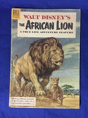 1955 Walt Disney's The African Lion #665 A True-Life Adventure Feature FN