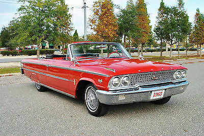 1963 Ford Galaxie 500 Convertible 'Z' Code 390 Big Block 4-Speed! 1963 Ford Galaxie 500 Convertible Factory 'Z' Code 390 Big Block 4-Speed!