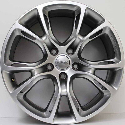 20inch GENUINE JEEP GRAND CHEROKEE SRT8 SPIDER MONKEY FORGED ALLOY WHEELS