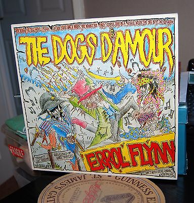 "The Dogs D'amour.  ""errol Flynn""  China Uk 1989 Lp. Ex Cond."