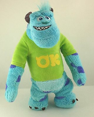 "Disney Pixar Monsters University 10.5"" Sulley Plush Soft Toy"