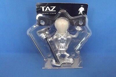 Warner Bros Taz Tasmanian Devil Shaving Brush & Razor Holder Shave Stand 1999
