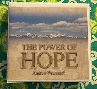 The Power of Hope 5 CD Set in Case Andrew Wommack Ministries