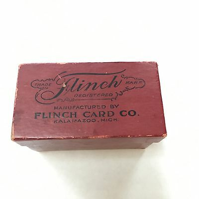 Flinch Card Game Vintage