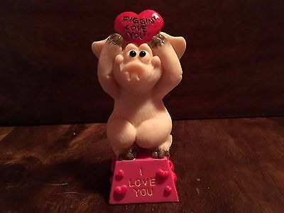 Piggin Celebrations By David Corbridge I Love You Pig Ornament