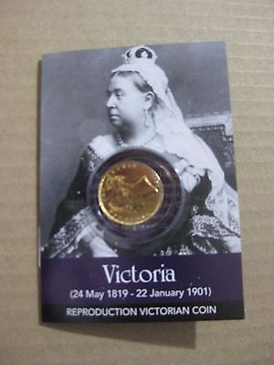Queen Victoria Gold Sovereign Coin Pack  -  Great