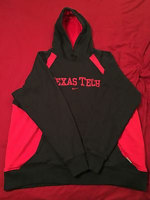 Mens XL Extra Large Nike Texas Tech Red Raiders Pullover Hoodie Sweatshirt