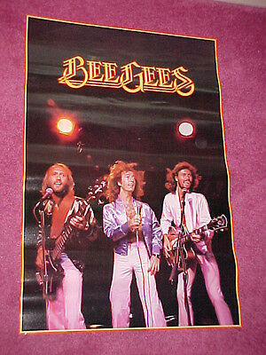 "EXTREMELY RARE ORIGINAL 1978 BEE GEES  34"" x 23"" POSTER MINT"