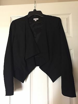 A Pea In The Pod Black Maternity Black Jacket Suit Work Size M Medium