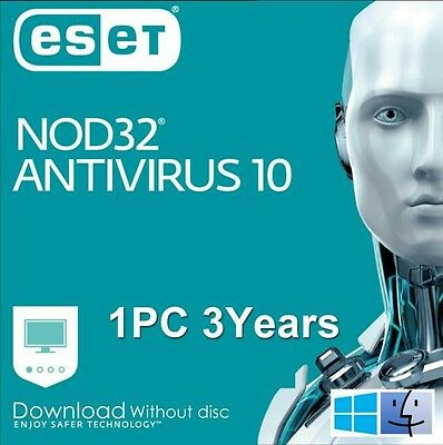 Eset Nod32 Antivirus 2017 Version 9 (1PC/ 3Years)