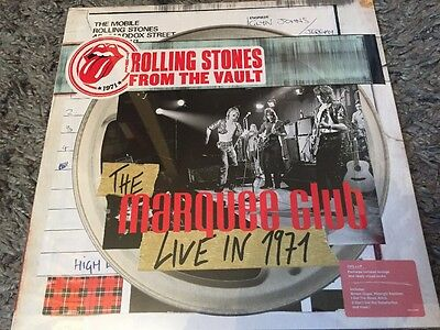 The Rolling Stones - From The Vault Marquee Club Sealed Vinyl LP