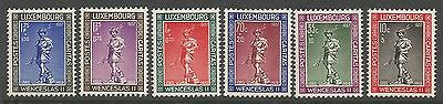 1937 Luxembourg Mounted Mint