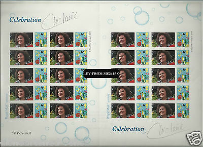 2013 Bletchley Dame Cleo Laine Signed No62 Of 100 Mnh