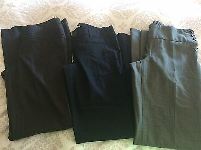 3 Pair Lot Womens Dress Pants, XS/S, Nice Brands, In Good Shape