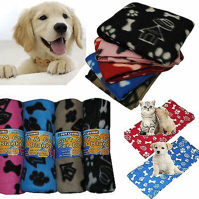 New Pet Touch Soft Fleece Pet Blanket Dogs & Puppy Blanket & Cat Blankets