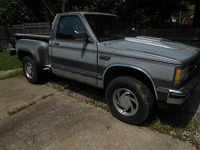 1987 Chevrolet S-10  1987 Chevy S10 Southern Coach + Parts Trucks