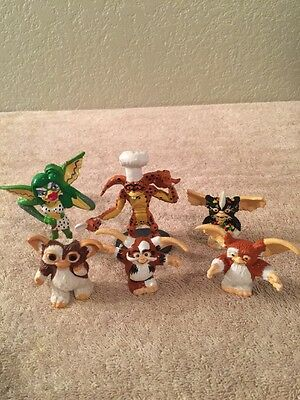 6 Gremlin Pvc Figures 1984 1990 Applause