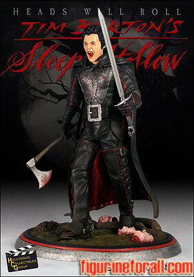 HOLLYWOOD COLLECTIBLES Sleepy Hollow HEADLESS HORSEMAN EXCLUSIVE 1/4 Statue HCG