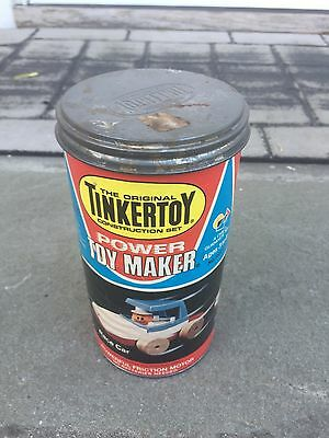 1978 Tinkertoy Power Toy Maker 1978 Incomplete Used
