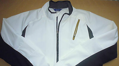 Asics Full Zip Showerproof Jacket - Size Large - A1 Condition