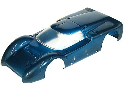 Vintage 1960's MPC Model Products G.E. Lexan Ford J 1/24 Slot Car Body