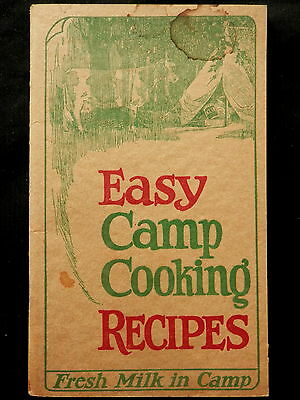 KILM Powdered Whole Milk MERRELL-SOULE Syracuse NY EASY CAMP COOKING RECIPE BOOK