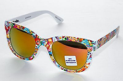 SHOPKINS Multi-Character Collage Girls 100% UV Shatter Resistant Sunglasses NWT
