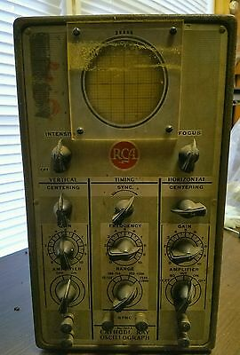 Vintage RCA Cathode Ray Oscillograph Model 155A