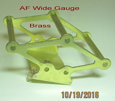 American Flyer Wide Gauge Large Pantograph (Brass)repro