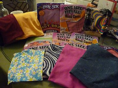 Lot (20!) BookSox Book Covers NEW