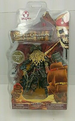 Disney Store Pirates Of The Caribbean At Worlds End 6 Inch Davy Jones New Sealed