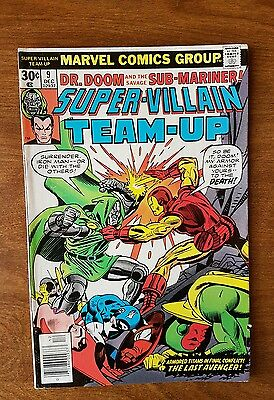 Super Villian Team Up #9 Marvel December 1976 Fine Very Fine