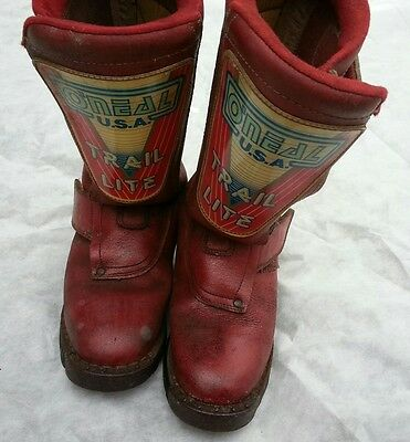 Authentic Vintage O'neal Trail Lite motocross boots
