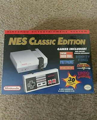 Nintendo Entertainment System: NES Classic Edition (TV game systems, 2016)