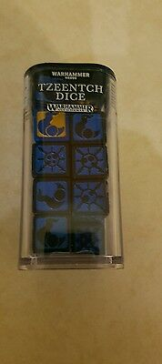 Warhammer Age of Sigmar  Tzeench Dice  Sold out!