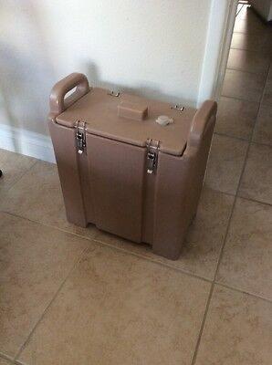 Cambro 350LCD Insulated Food/Soup Carrier -Hot/ Cold