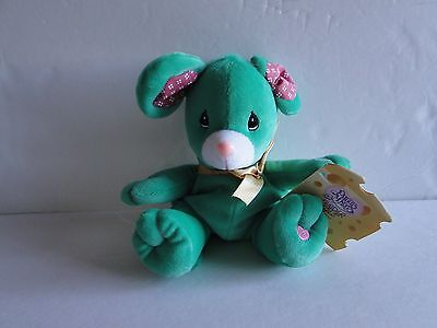 New 1998 PRECIOUS MOMENTS TENDER TAILS Limtd Ed Plush Beanie ROSIE The MOUSE