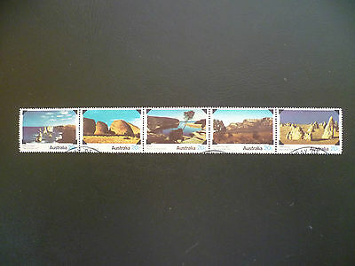Australian Stamps - 1979 National Parks (strip of 5)