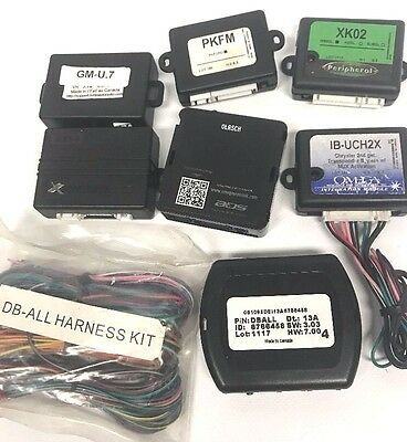 Lot of 7 iDatalink Xpresskits OmegaLink Remote start and Databus Interface Units