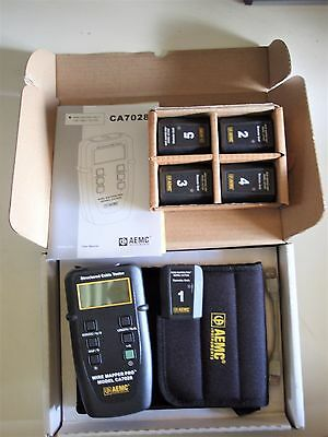 Wire Mapper Pro LAN Network Cable Tester AEMC CA7028 4 additional remote Nodes