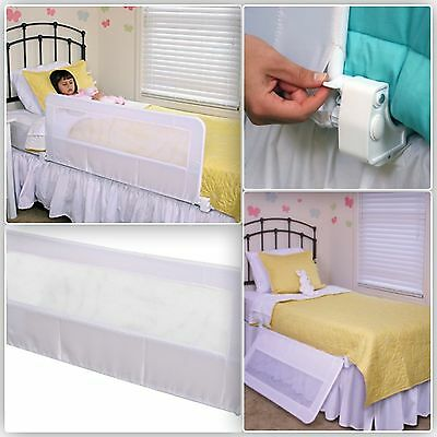 Bed Rail Queen Support Safety Frame Toddler Child Adult Baby Guard Bedrail New