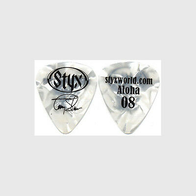 Styx Tommy Shaw authentic 2008 tour Guitar Pick