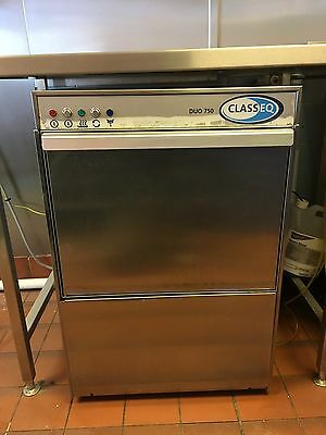 classeq duo 750 Commercial Dishwasher 3 Phase