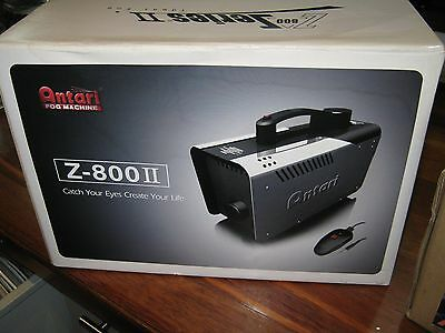Z - 800Ii Antari Fog Smoke Machine  800 Watt Remote Control