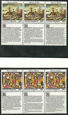 Timbres ARTS Nations Unies US 635/40 ** (4428)