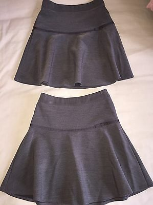 George Flippy School Skirts X 2, Grey, Age 5-6 Excellent Condition