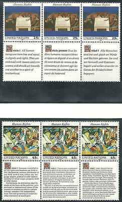 Timbres ARTS Nations Unies US 563/8 ** (4424)