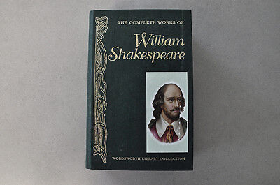 The Complete Works Of William Shakespeare, Wordsworth Library Collection.