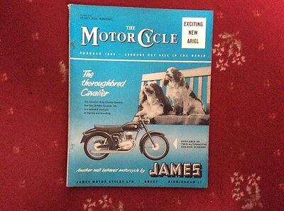 The Motor Cycle Magazine July 1958